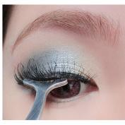 AMA(TM) Beauty Tools Multifunctional False Eyelashes Aid Stainless Steel Clip Forceps Makeup