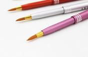 1pc Aluminium Portable Make up Retractable Lip Brush Pencil Liner Beauty Tool