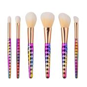 Fullkang New 6PCS Multicolor Cosmetic Makeup Brush Makeup Brush Eyeshadow Brush