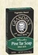 Pine Tar Soap Grandpa Soap Company 100ml Bar by Grandpa Soap Company
