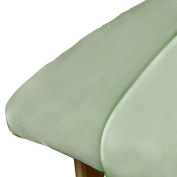ForPro Premium Microfiber Fitted Sheet, Sage