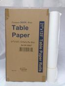 50cm x 38m Crêpe Exam Tablepaper Rolls, 12 per case