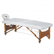 Compact Portable Two Section Massage Folding Table With Tension Wires USA Salon and Spa USA-2217A