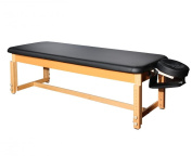 BestMassage Black Leather stationery Massage Table Spa Beaty Facial Bed S0281