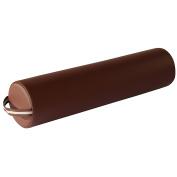 Mt Massage Tables Full Round Massage Bolster, Chocolate