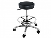 Simplistic Aesthetic Hair Salon Cutting Stool with Footrest Ring