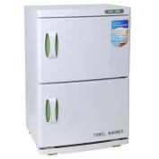 46L 2-Room Towel Warmer Cabinet Heated Steriliser