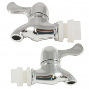 Spigots for Iced Beverage Dispenser Carafe (2 pack), Replacement Beverage Dispenser Pouring Spigot