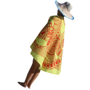 Hatop Tribal Printed Beach Cover Up Bathing Suit Tunic Yoga Mat Tablecloth