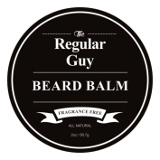 The Regular Guy Beard Balm – 60ml – Tame Your Beard With No Greasiness – Make It Look Thicker and Fuller – Fragrance Free