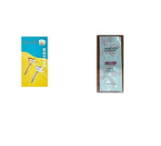 Shaving Factory Double Edge Safety Razor, Silver with FREE Loving Colour trial size conditioner