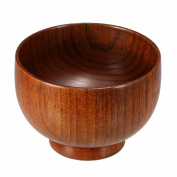 Anself Wooden Shaving Soap Bowl Shave Cream Cup Cleaning Mug