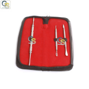 G.S SPECIAL OFFER' 3-PCS SET BLACKHEAD REMOVER EXTRACTOR TOOL SET FOR BLACKHEADS, WHITEHEADS, ACNE, SPOTS & ZITS