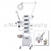 15 In 1 T5 Facial Machine Ozone Steamer Microdermabrasion Skin Care Equipment