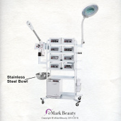 18 In 1 T4DW Facial Machine Ozone Steamer Microdermabrasion Skin Care Equipment and Flexible Arm Magnifying Lamp
