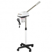 Salon Spa Ozone Facial Steamer Aromatherapy Rolling Wheels