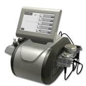 Project E Beauty Cavitation Tripolar Multipolar Bipolar Radio Frequency Vacuum Ru+5beco Machine - Silver - 26.3x24.4x20