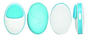 Tru Beauty Duo Facial Massager, Bright Turquoise