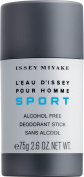 Issey Miyake L'EAU D'ISSEY Homme Sport deodorant stick alcohol free 75 gr