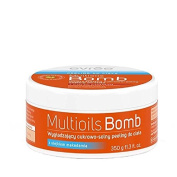 Evree Multibombs Smoothing Sugar Salt Body Scrub with Macadamia Oil Peeling 350g