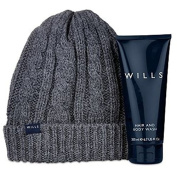 Jack Wills beanie and toiletry gift set