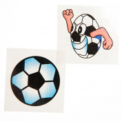 Glitter Soccer Tattoos