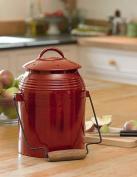 Rustic Kitchen Compost Crock