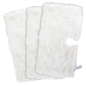 Fushing 3Pcs Household Microfiber Replacement Cleaning Pads for Shark Steam Pocket Mops S3500 series,S2902,S3455K,S3501,S3550,S3601,S3801,S3901,S4601,S4701,S4701D,SE450