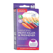 Acana 2675-1 Hanging Moth Killer and Lavender Freshener - White