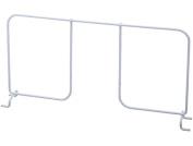 Organised Living freedomRail Shelf Divider for freedomRail Ventilated Shelves, 41cm - White by Organised Living