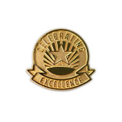 None - Celebrating Excellence Lapel Pin