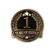 None - 1 Year of service Lapel Pin