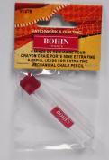 BOHIN Mechanical Pencil Refill .9mm White 91478