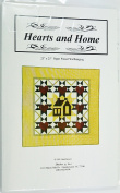 Hearts and Home Paper Pieced Wallhanging by Barb Sawyer Quilt Pattern