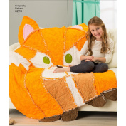 Simplicity Creative Patterns US8278OS 8278 Simplicity Pattern 8278 Animal Rag Quilts, Size