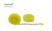 SYMWELL 150CM 1.5 Metre Yellow Retractable Plastic Tape Measure Sewing Ruler for Sewing Tailor Cloth