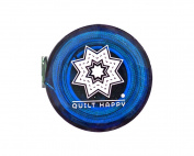 Quilt Happy Tape Measure Blue