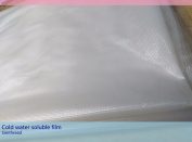 Sinbel 35um Transparent Cold Water-Soluble Toping Film Embroidery Toping 100cm100cm Soluble Stabiliser