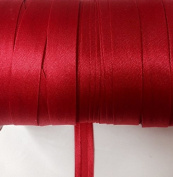 12 yards 1.6cm Single Fold Satin Bias Tape 20 Different Colours In Red