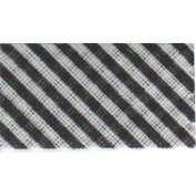 Essential Trimmings ETR20220/239 | Black Stripe Cotton Bias Binding | 20mm x 25m