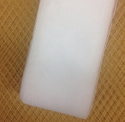 5.1cm inch wide Stiff Polyester White Horsehair Braid, selling per Roll 50Yards