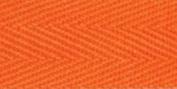100% Cotton Twill Tape 1x55yd-Orange