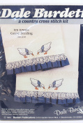 Dale Burdett Tea Towels Cross Stitch Kit Geese Feeding