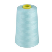 MARKETPLACE MAYHEM Overlocking Thread - Overlocker Thread - Polyester Thread - Industrial Sewing Thread - 4 X 5000 Yard Spools