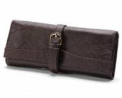 AmeriLeather Leather Jewellery Roll