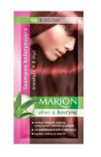 Marion Hair Colour Shampoo in Sachet Lasting 4 to 8 Washes Aloe and Keratin - 98 Burgundy