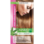 Marion Hair Colour Shampoo in Sachet Lasting 4 to 8 Washes Aloe and Keratin - 62 Dark Blonde