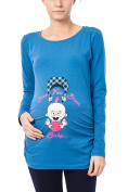 See You Soon - Funny Cute Sweet Maternity Long Sleeved T Shirt With Pattern Pregnancy