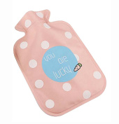 2016 Creative Lovely Mini Hot Water Bottle/Hand Warmer, 300ML, Light and Handy