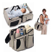 Naerde 3 in 1 Changing Bags Multifunctional Portable Baby Bed Easy Carry Everywhere